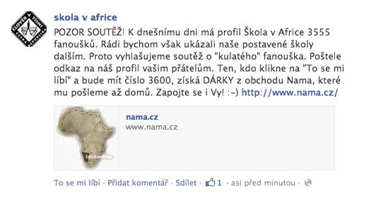 Soutěž Škola v Africe