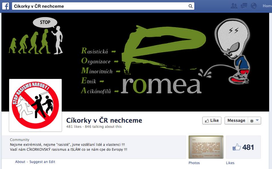 cikorky v cr nechceme fb screenshot